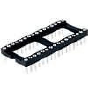 Patice DIP 32 PIN 15,24mm zlacený polyester UL94V-0 1A THT