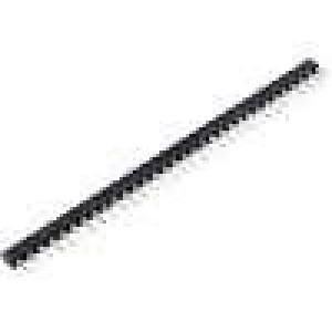 Patice SIL 32 PIN zlacený polyester UL94V-0 dvýv:0,5mm THT