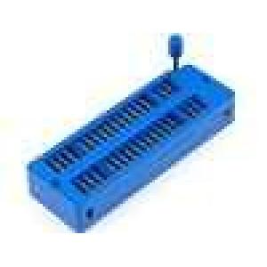 Patice DIP ZIF 40 PIN 7,62/15,24mm rozebíratelná -25-70°C
