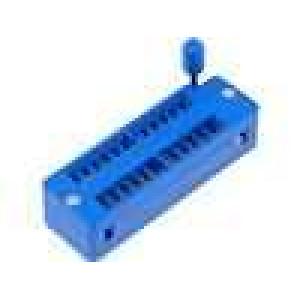 Patice DIP ZIF 24 PIN 7,62mm rozebíratelná -25-70°C THT