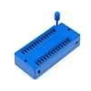 Patice DIP ZIF 28 PIN 15,24mm rozebíratelná -25-70°C THT