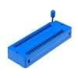Patice DIP ZIF 40 PIN 15,24mm rozebíratelná -25-70°C THT