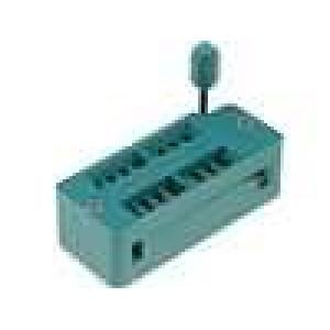 Patice DIP ZIF 16 PIN 7,62mm zlacený rozebíratelná -55-150°C