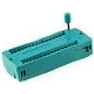 Patice DIP ZIF 32 PIN 15,24mm zlacený rozebíratelná THT 1A