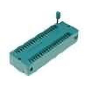 Patice DIP ZIF 40 PIN 15,24mm zlacený rozebíratelná THT 1A