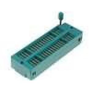 Patice DIP ZIF 40 PIN 7,62/15,24mm zlacený rozebíratelná
