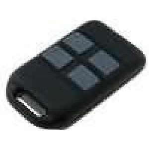 Kryt pro dálkový ovladač X:36mm Y:59mm Z:13mm ABS černá
