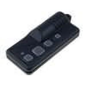 Kryt pro dálkový ovladač X:29mm Y:62mm Z:9mm ABS černá