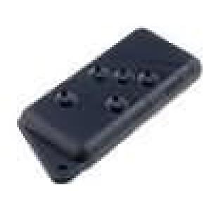 Kryt pro dálkový ovladač X:37mm Y:75mm Z:14mm ABS černá