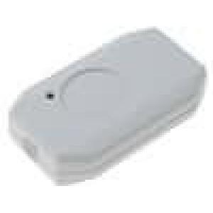Kryt pro dálkový ovladač X:38mm Y:65mm Z:16mm ABS bílá