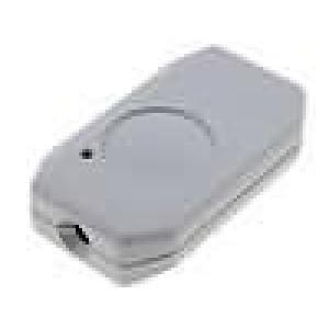 Kryt pro dálkový ovladač X:38mm Y:65mm Z:16mm ABS šedá