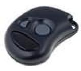 Kryt pro dálkový ovladač X:38mm Y:54mm Z:14mm ABS černá