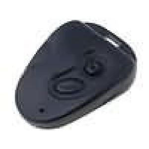 Kryt pro dálkový ovladač X:38mm Y:52mm Z:14mm ABS černá