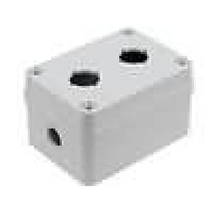 Kryt pro dálkový ovladač X:80mm Y:110mm Z:65mm ABS šedá