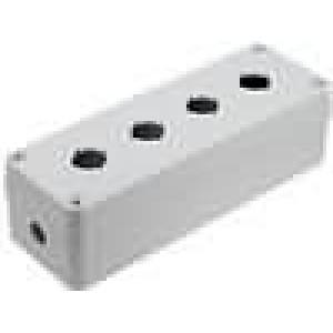 Kryt pro dálkový ovladač X:80mm Y:230mm Z:65mm ABS šedá