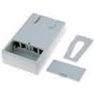 Kryt pro dálkový ovladač X:67,5mm Y:103mm Z:26,5mm ABS