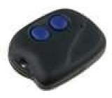 Kryt pro dálkový ovladač X:36mm Y:46mm Z:11mm ABS černá