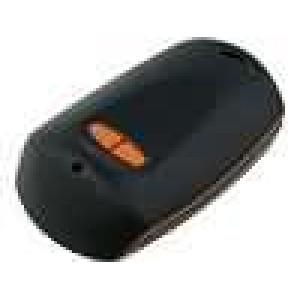 Kryt pro dálkový ovladač X:65mm Y:42mm Z:16mm ABS černá