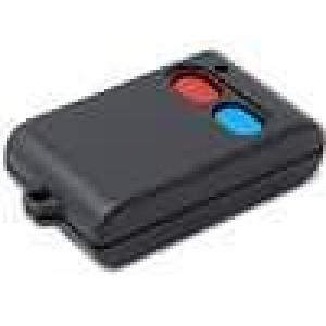 Kryt pro dálkový ovladač X:56mm Y:36mm Z:16mm ABS černá