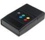 Kryt speciální X:90mm Y:60mm Z:22mm ABS černá