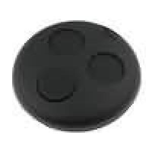 Kryt pro dálkový ovladač plast černá Smart MINITOOLS