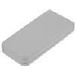 Kryt pro dálkový ovladač X:69mm Y:142mm Z:25mm ABS šedá