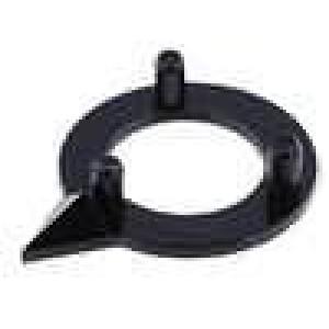 Ukazatel polyamid černá 10mm -20-70°C pro G10