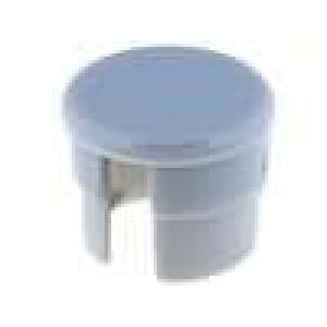 Víčko polyamid šedá 10mm -20-70°C pro G10