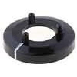 Kroužek polyamid černá 15mm -20-70°C pro G15