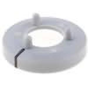 Kroužek polyamid šedá 15mm -20-70°C pro G15