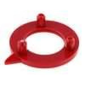 Ukazatel polyamid červená 15mm -20-70°C pro G15