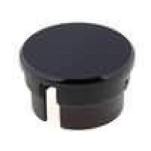 Víčko polyamid černá 15mm -20-70°C pro G15