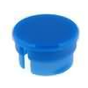 Víčko polyamid modrá 15mm -20-70°C pro G15