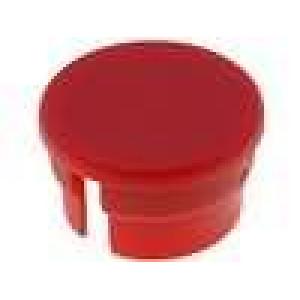 Víčko polyamid červená 15mm pro G15