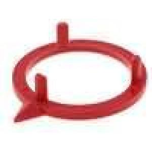 Ukazatel polyamid červená 21mm -20-70°C pro G21