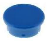 Víčko polyamid modrá 21mm -20-70°C pro G21