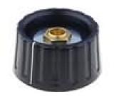 Knoflík, ukazatel s ukazatelem plast pro hřídel 6mm Ø36x18,5mm