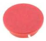 Víčko plast červená zatlačované pro G4311.6131