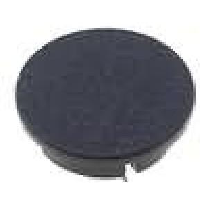 Víčko plast černá zatlačované pro G4311.6131