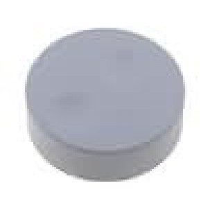 Knoflík bez ukazatele plast pro hřídel 6mm Ø39,6x13,5mm šedá
