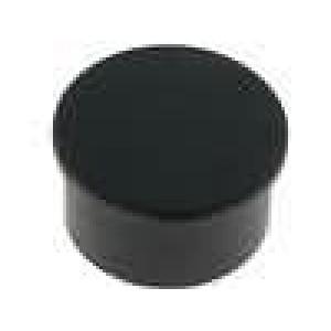 Víčko termoplast zatlačované Víčko černá