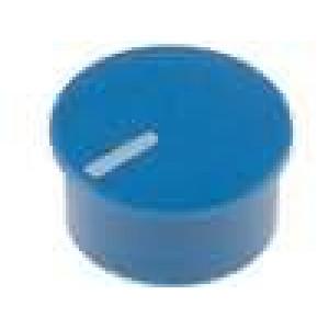 Víčko termoplast zatlačované Ukazatel bílá Víčko modrá