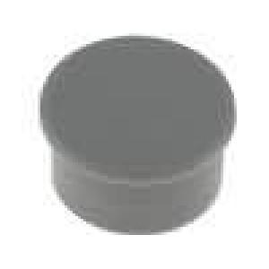 Víčko termoplast zatlačované Víčko šedá