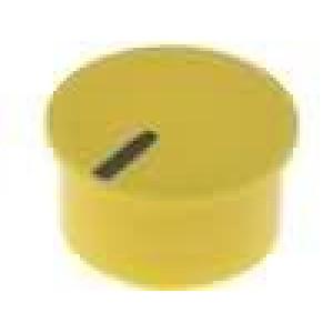 Víčko termoplast zatlačované Ukazatel černá Víčko