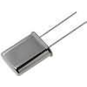 Rezonátor krystalový 6MHz ±20ppm 30pF THT HC49