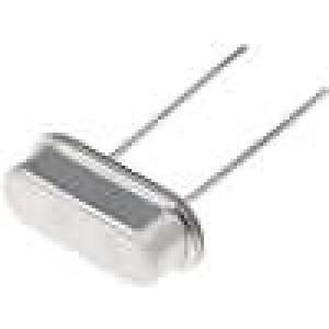 Rezonátor krystalový 6,144MHz ±30ppm 30pF THT HC49-S