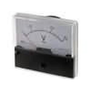 Panelové měřidlo 0-300V Třída přesností:2,5 16kΩ 80g