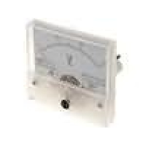 Panelové měřidlo 0-30V Třída přesností:2,5 15kΩ 65g