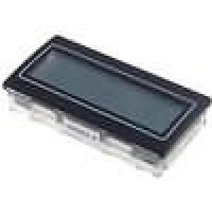 Panelové měřidlo LCD 3,5místný 14 mm 72x36mm Rozsah:200mV