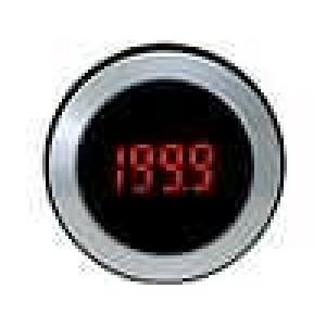 Panelové měřidlo LED 3,5-místný 8 mm V DC:0-200mV 38x15mm